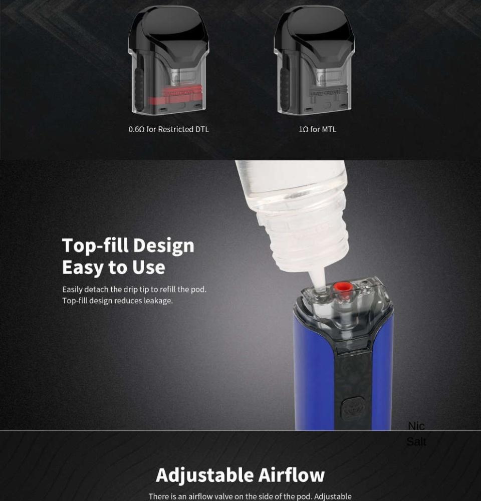Uwell Crown Pod for sale e-cigarette kits for vaping