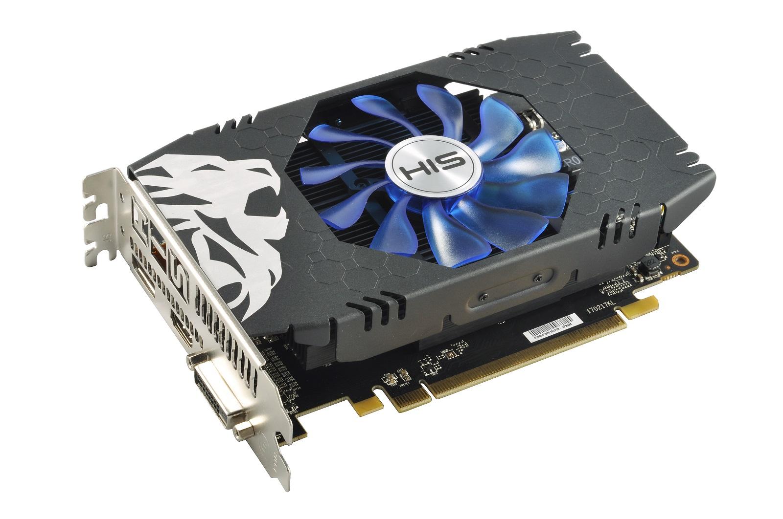 Video Card HIS RX 560 2gb 128 BIT DDR5