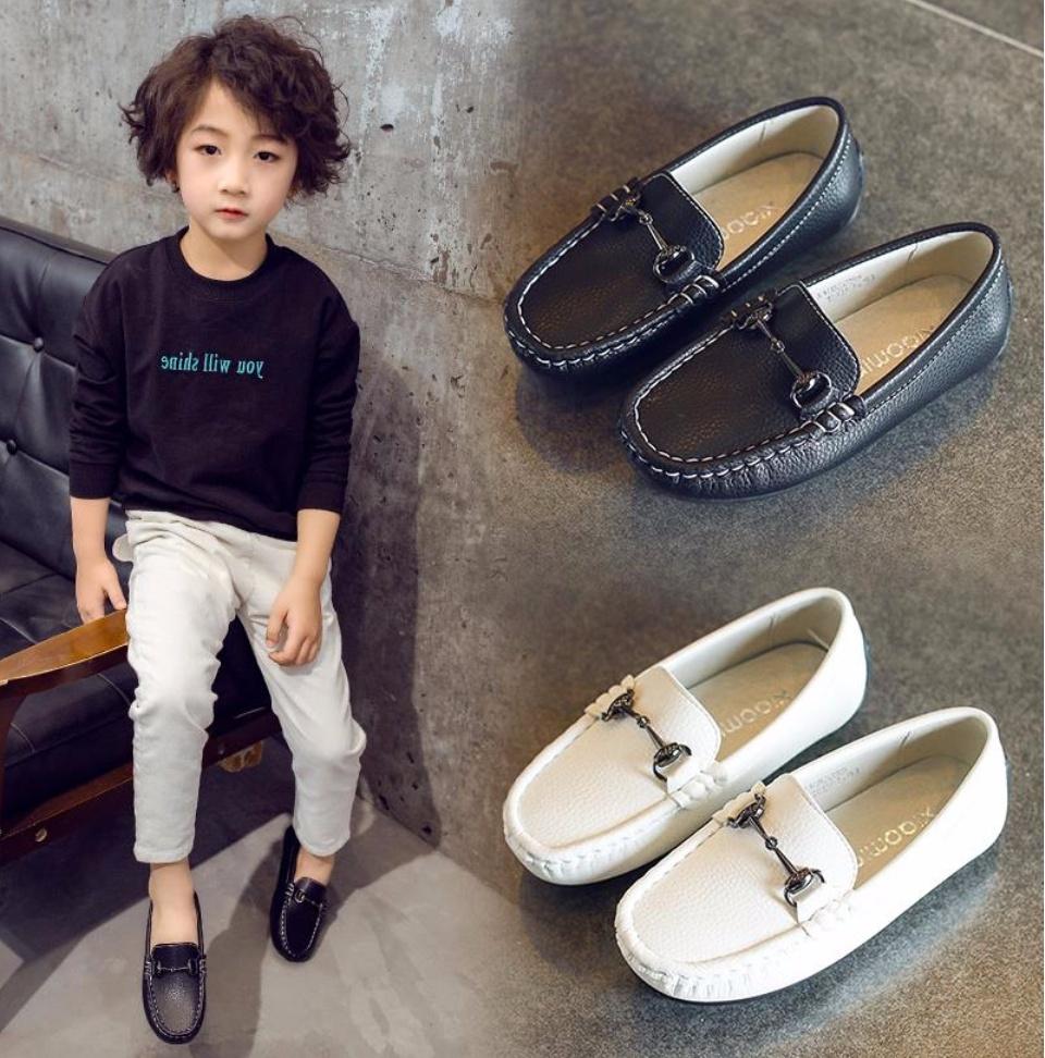 f8a675de6c Black school shoes for kids boys( Rubber)Size:24-35
