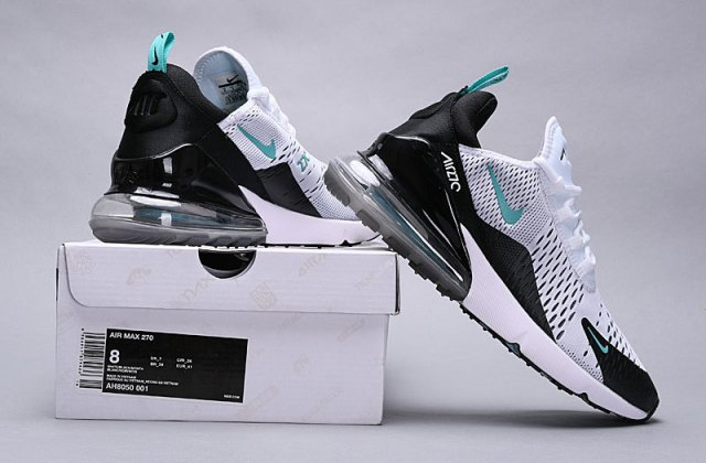Nike Air Max 270 Dusty Cactus blackwhite dusty cactus AH8050 001 Trainer Men's Running Shoes