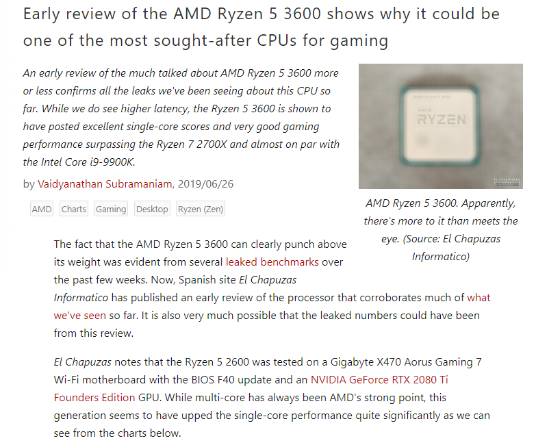 Bundle Deal: AMD Ryzen 5 3600 Processor and MSI X570-A PRO Motherboard