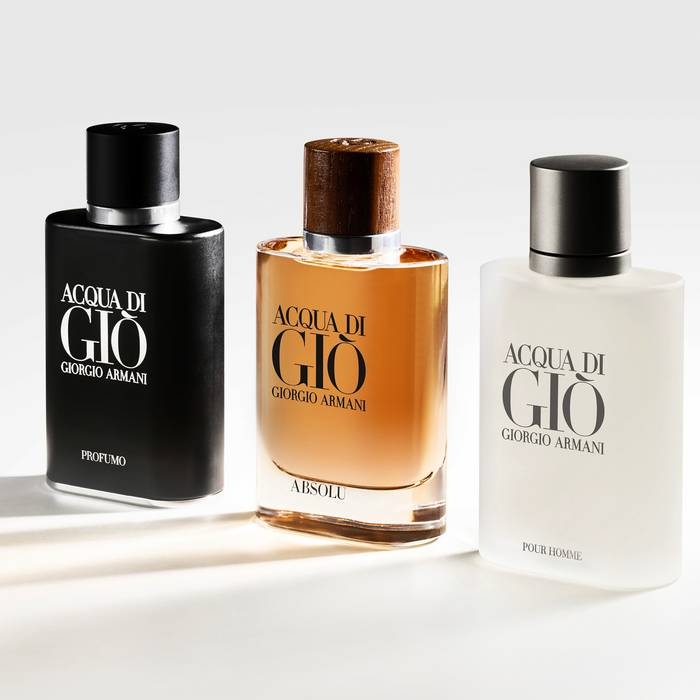 Giorgio Armani Acqua di Gio pour homme for women flanker review