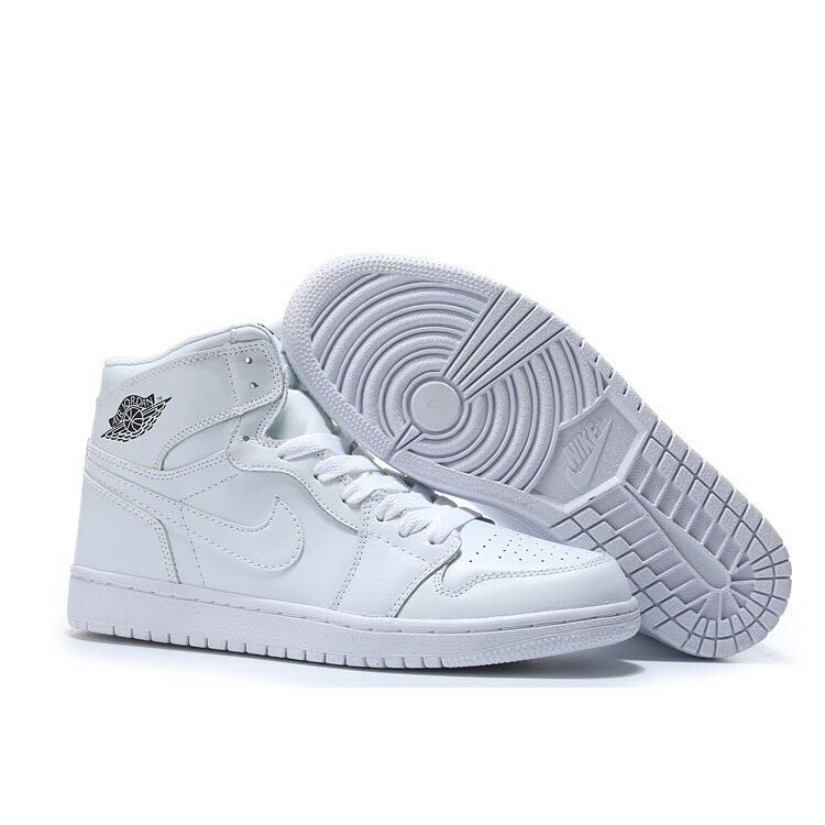 grossiste 49467 bff40 air force 1 Basketball All White For Men Shoes