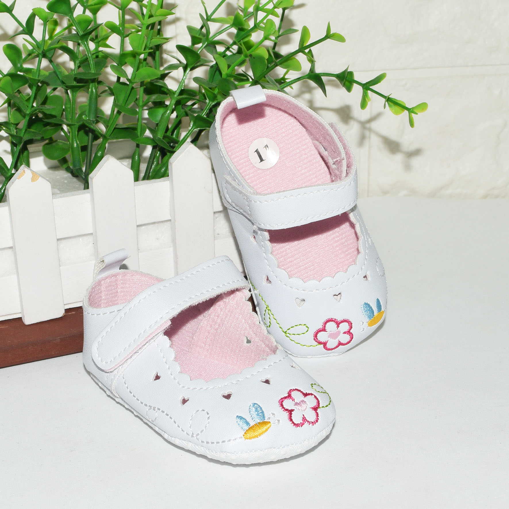Infant Close Flat Shoes For Baby Girl