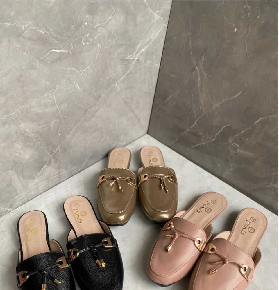 DS Half Shoes Sandals Paris Grain