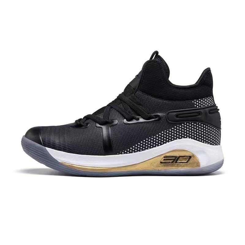 Curry 6 high cut basketball shoes for