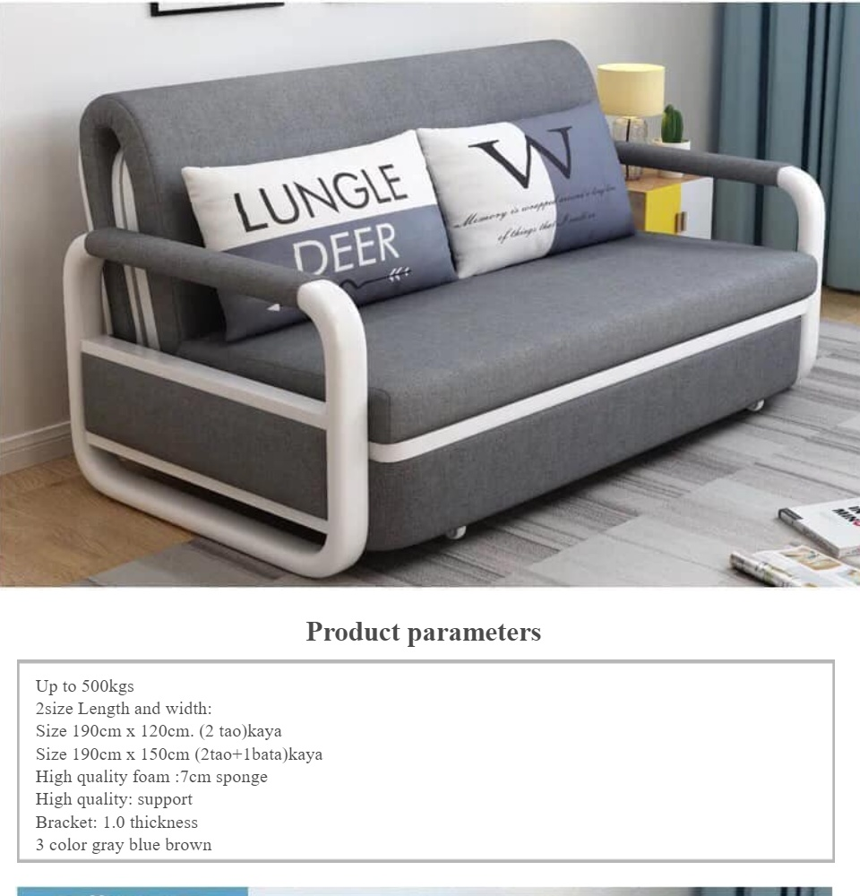 3 In 1 Sofa Bed With Storage Function