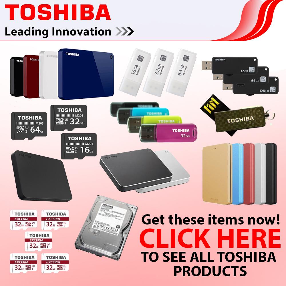 Toshiba Canvio Connect II V8 1TB USB 3 0 Portable Hard Drive