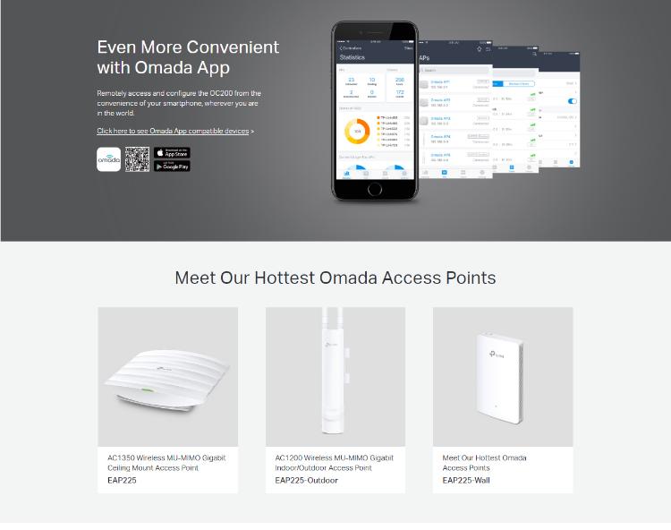 TP-Link Omada Wi-Fi Network Cloud Controller OC200