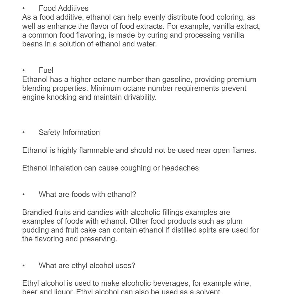 Dalkem Ethyl Alcohol 95% Technical Grade gallon 4 liters