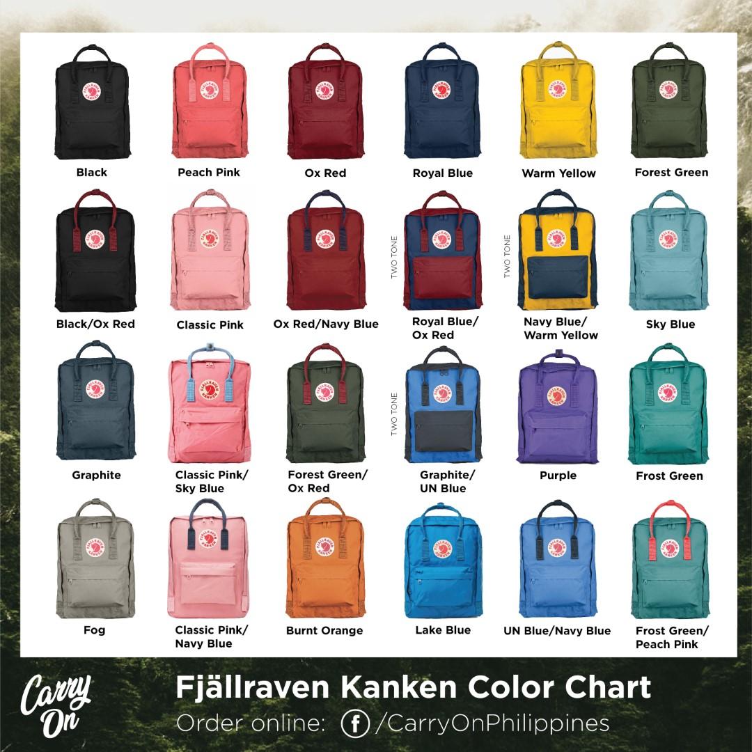 Fjallraven Kanken Classic Backpack-All Colors