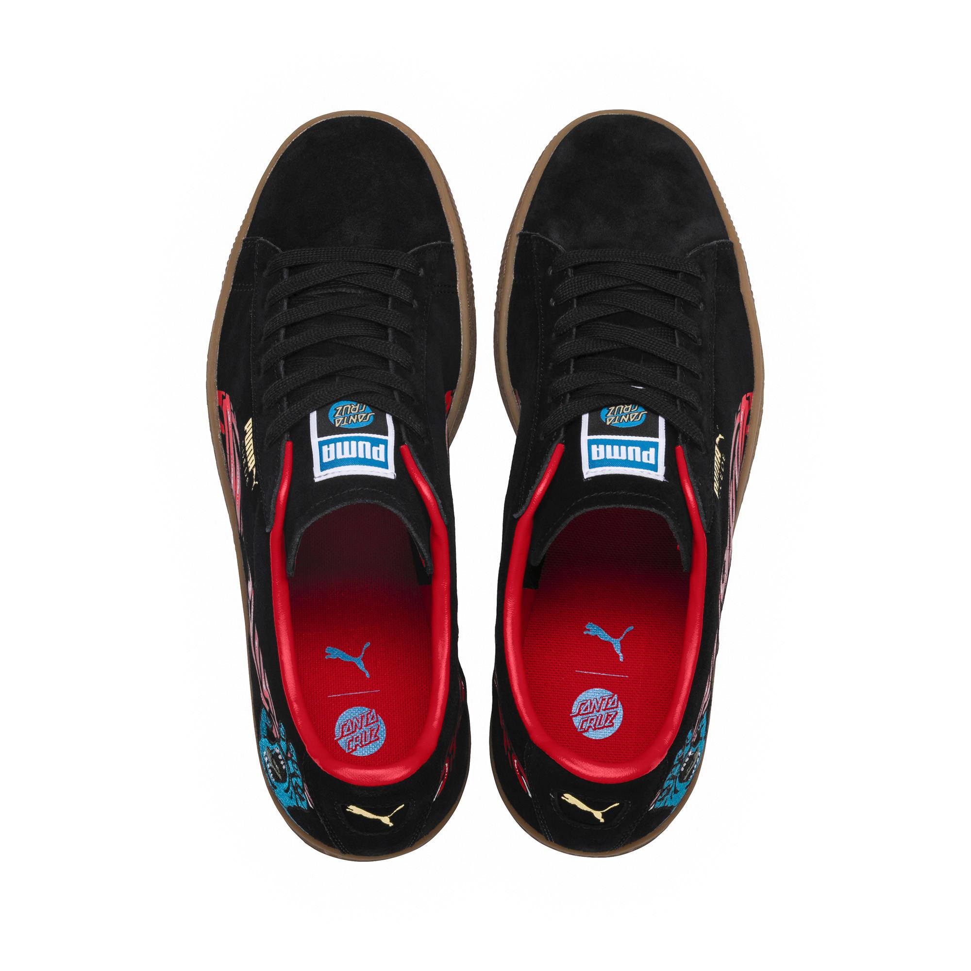 uk availability 4df7c a21e2 Puma X Santa Cruz Suede Classic Sneakers