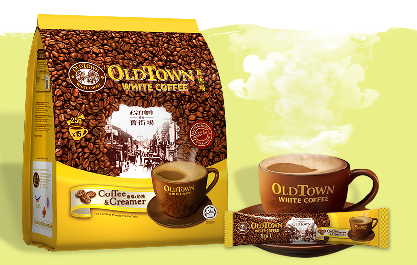 Instant Premix White Coffee
