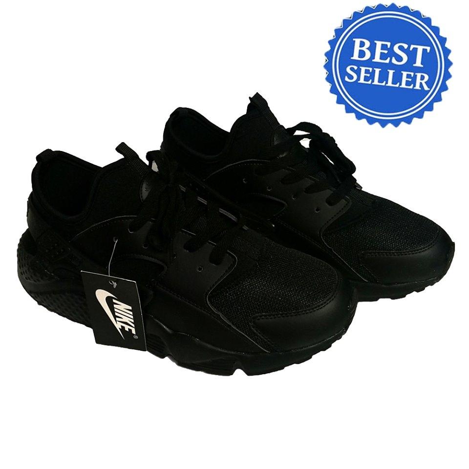 quality design 28547 6b7b0 Nike Air Huarache Men's Shoe (All Black)