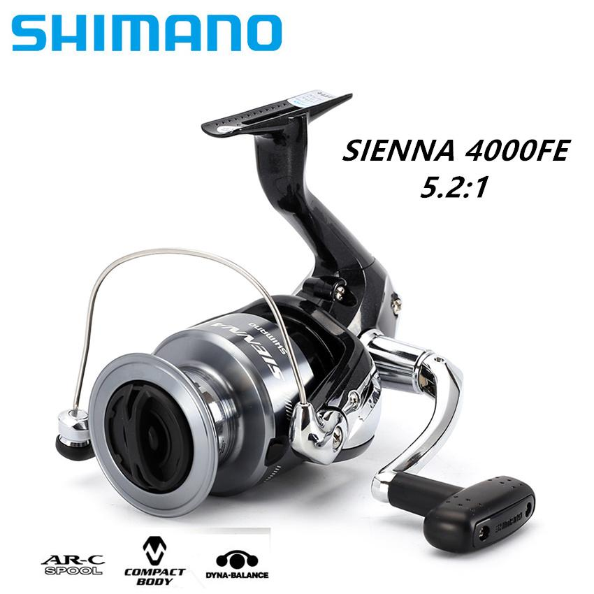 100% Original] Shimano AX-4000FB Spinning Fishing Reel 1+1BB Front
