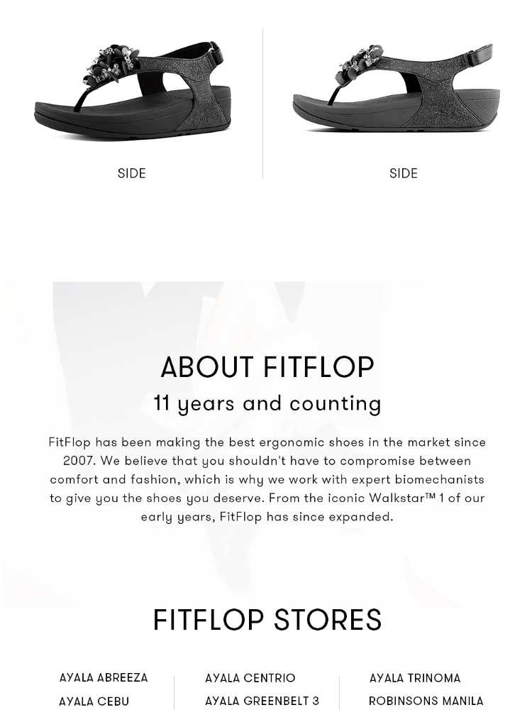 a37bf6baf55 FitFlop Women s Sandals I37 BOOGALOO BACK STRAP SANDAL Leather DRESS  lightweight comfort fashion New