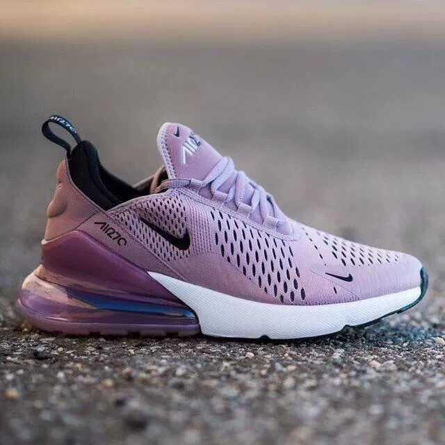 sports shoes df3bf 530b4 NIKE AIR MAX 270 PURPLE WOMEN SHOES