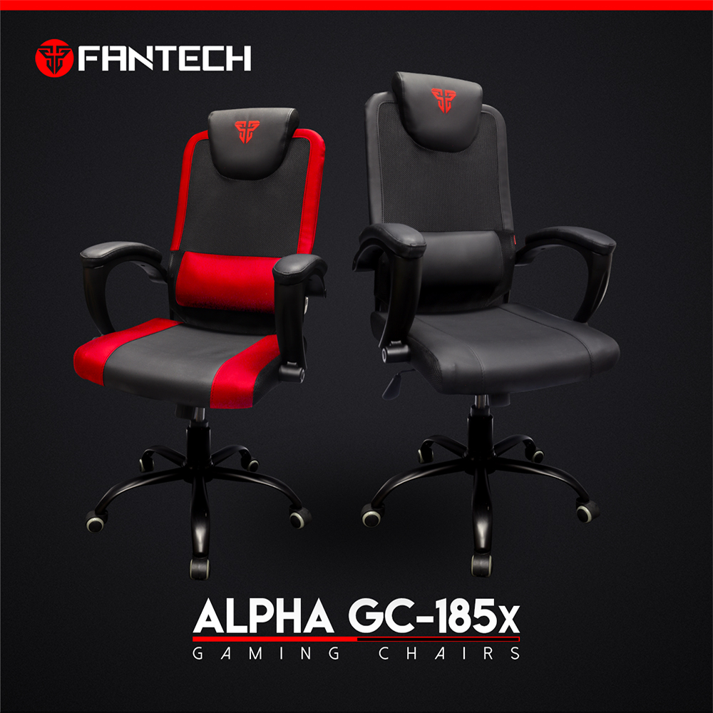 ORIGINAL Fantech GC 185X ALPHA GAMING CHAIRS top of the line Durable Simple  yet comfortable gaming chair, suitable for home user/internet cafe users