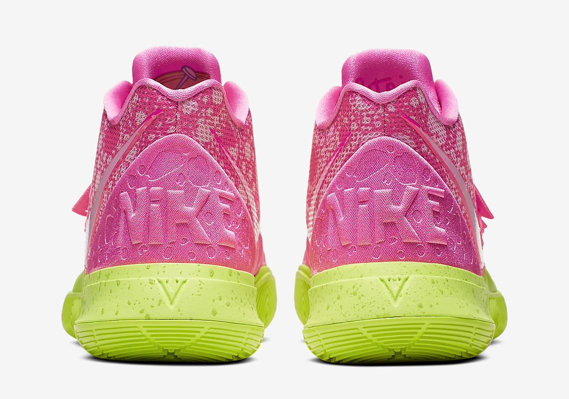 size 40 71030 3139d Kyrie 5 Patrick Star basketball Shoes 2019 New Released SPONGEBOB