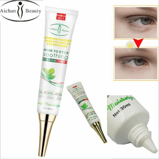 Authentic Eye Bag Remover Soothing Balm Instant Eye Bag Remover for men and  women) - Original Highly whitening fleck remover strong acne ointment