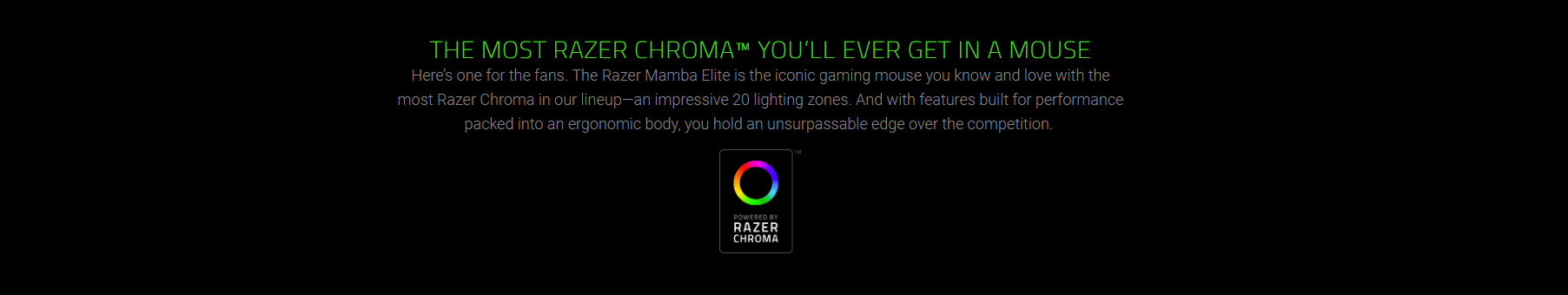 Razer Mamba Elite 5G Advanced Optical Sensor with true 16,000 DPI Advanced  Ergonomics with Improved Side Grips Hybrid On-Board Memory and Cloud