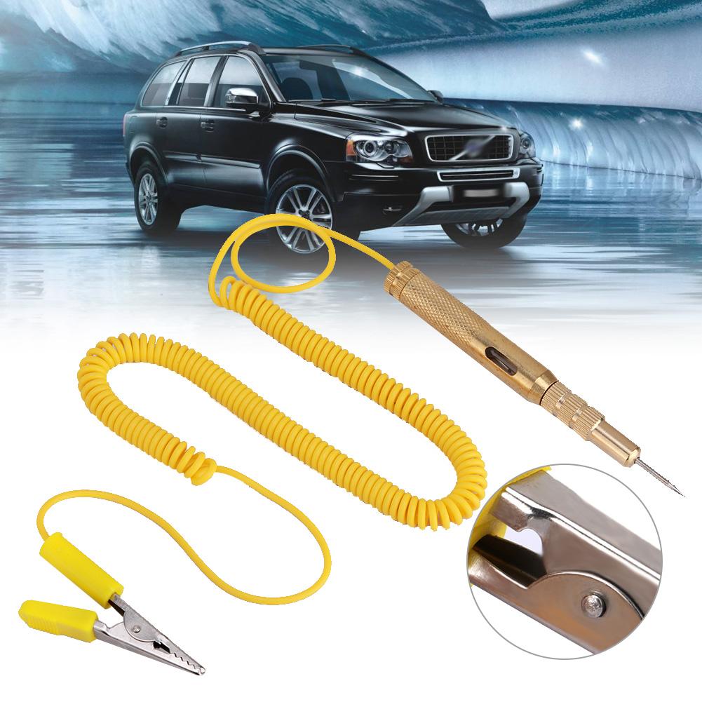 Green DC 6V 12V 24V Automotive Circuit Maintenance Light Bulb Voltage Testing Pen Auto Car Vehicle Circuit Tester Test Pen