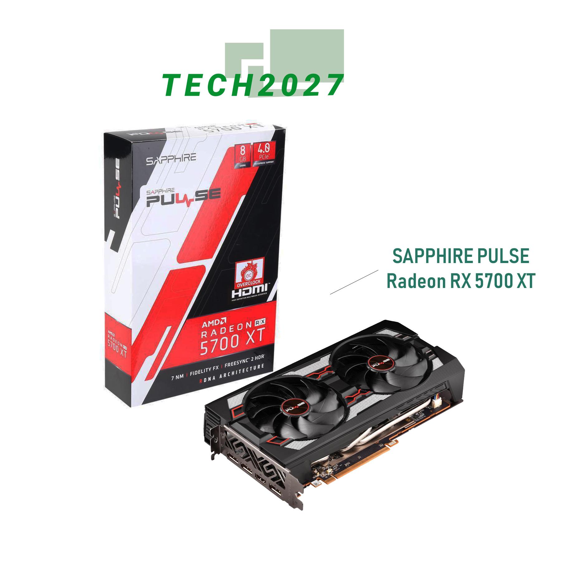 Sapphire Pulse Radeon Rx 5700 Xt 8gb 256 Bit Gddr6 Video Card Spr 11293 01 20g Lazada Ph