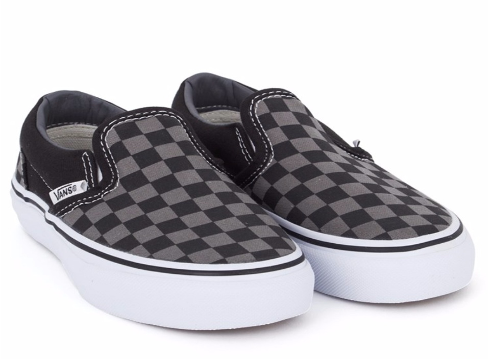 checkered of men and women shoes size