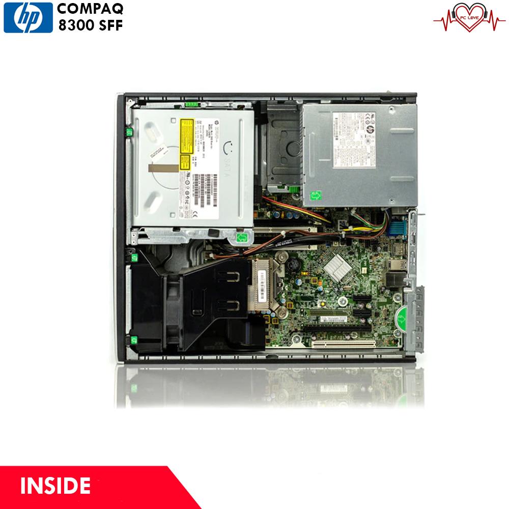hp compaq 8300 SFF/ S 775 (Q67)/ Intel Core i7 3770 (3 4GHz)/ 4gb ddr3/  500gb/ DVD-RW/ WITH WINDOWS 10