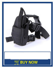 Tactical Quick Draw Slot Duty Loop Belt Holster Right Hand