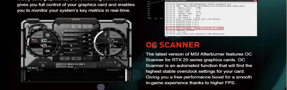 MSI Nvidia GeForce RTX 2060 Super Ventus OC 8GB GDDR6 256 Bit Video Card