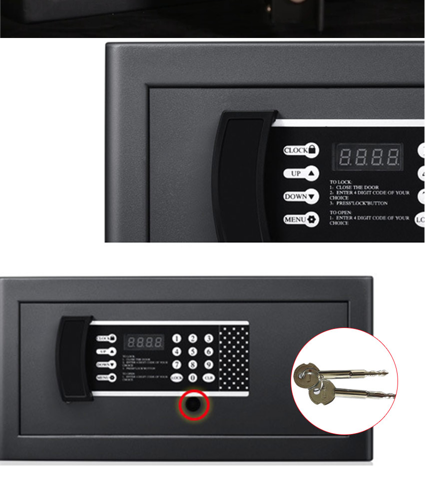 Fireproof ANSOL Brand New Safe Digital Safes Box Fire Resistant Ideal For  Home Office Safety Security Box Keep Cash Jewelry Documents Securely Fire
