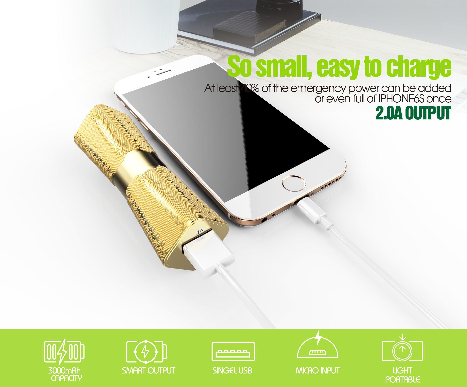 Bavin 3000mah Portable Power bank PC167