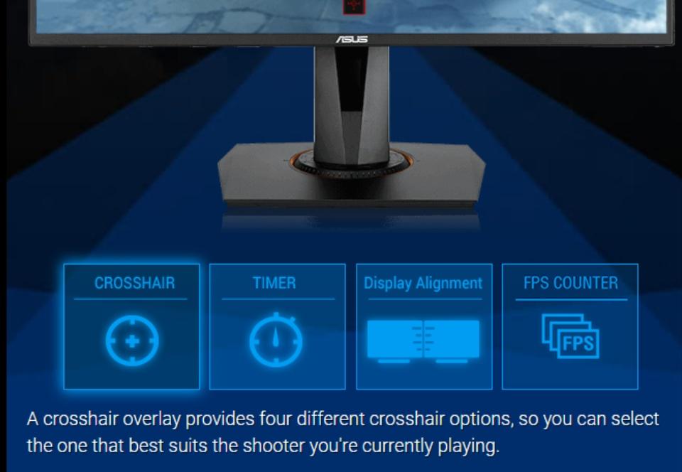 Full Screen Crosshair Overlay