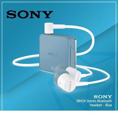 Sony Sbh 24 Wireless Bluetooth Stereo Headphones With Google Siri Compatibility Blue Lazada Ph