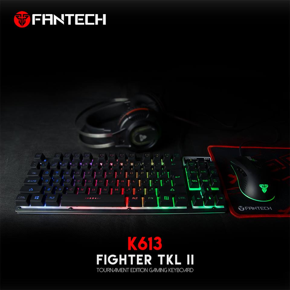 4f7726163e2 Fantech K613 Fighter Gaming Keyboard TKL (Computer Shop Edition ...