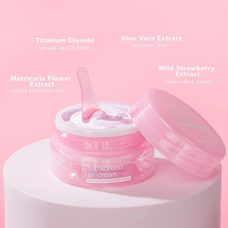 Sunscreen gel-cream SPF 30