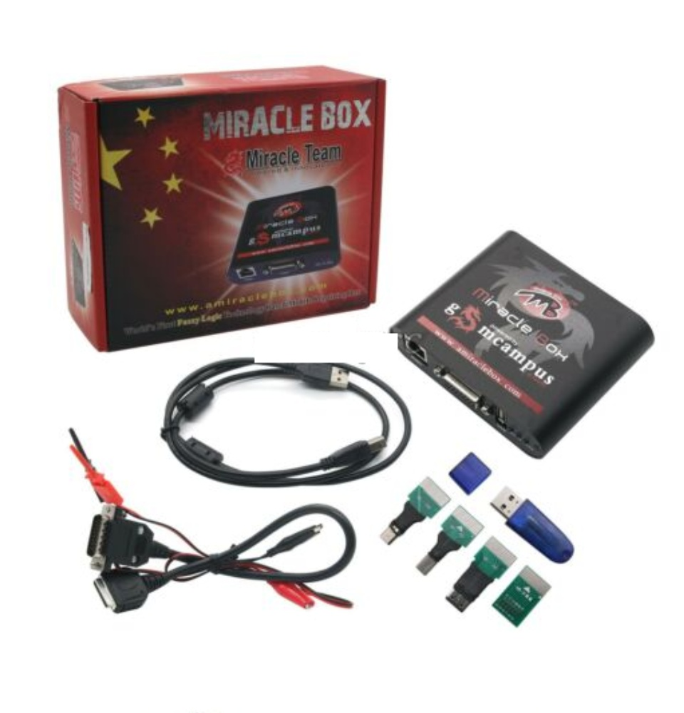 Miracle Box +Miracle Key + Cables for Multi-brand Phones Repair Andriod  Phones Miracle Always First