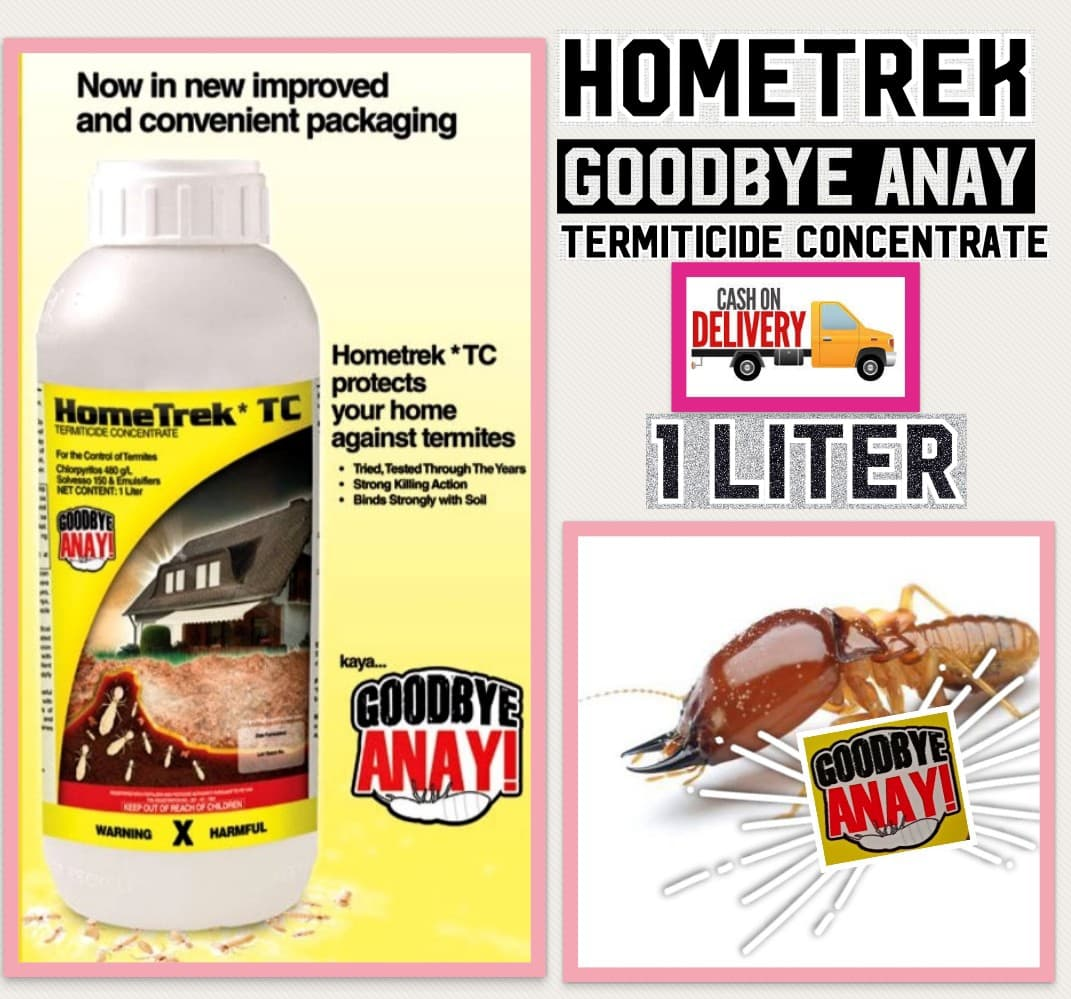 Hometrek Goodbye Anay Termiticide Concentrate 1000ml 240ml Lazada Ph