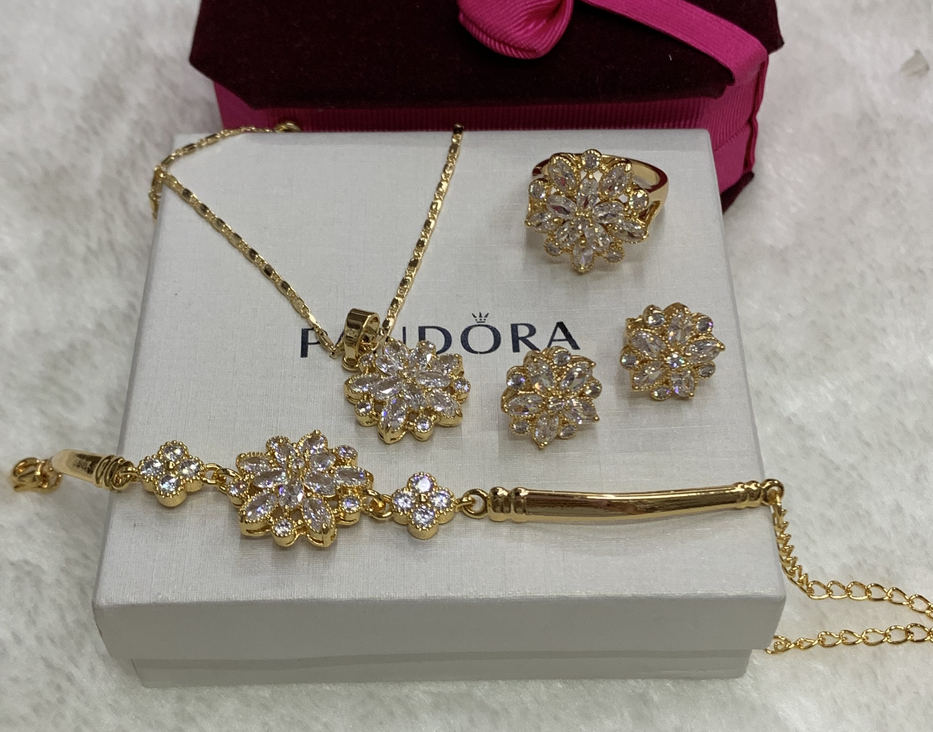 c2e0fd2286 Specifications of Bangkok 18K Goldmix Rosegold Jewellery sets with Swarovski  Stones. Brand. SAVE AND SHOP