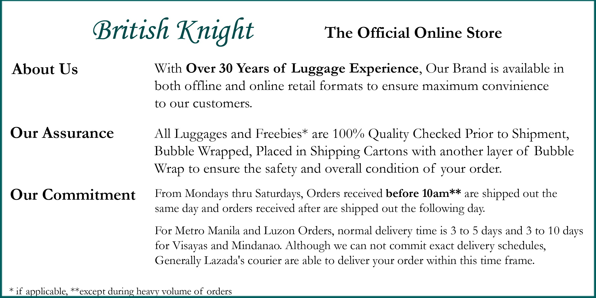 British Knight Official Official Online Store | Lazada Philippines