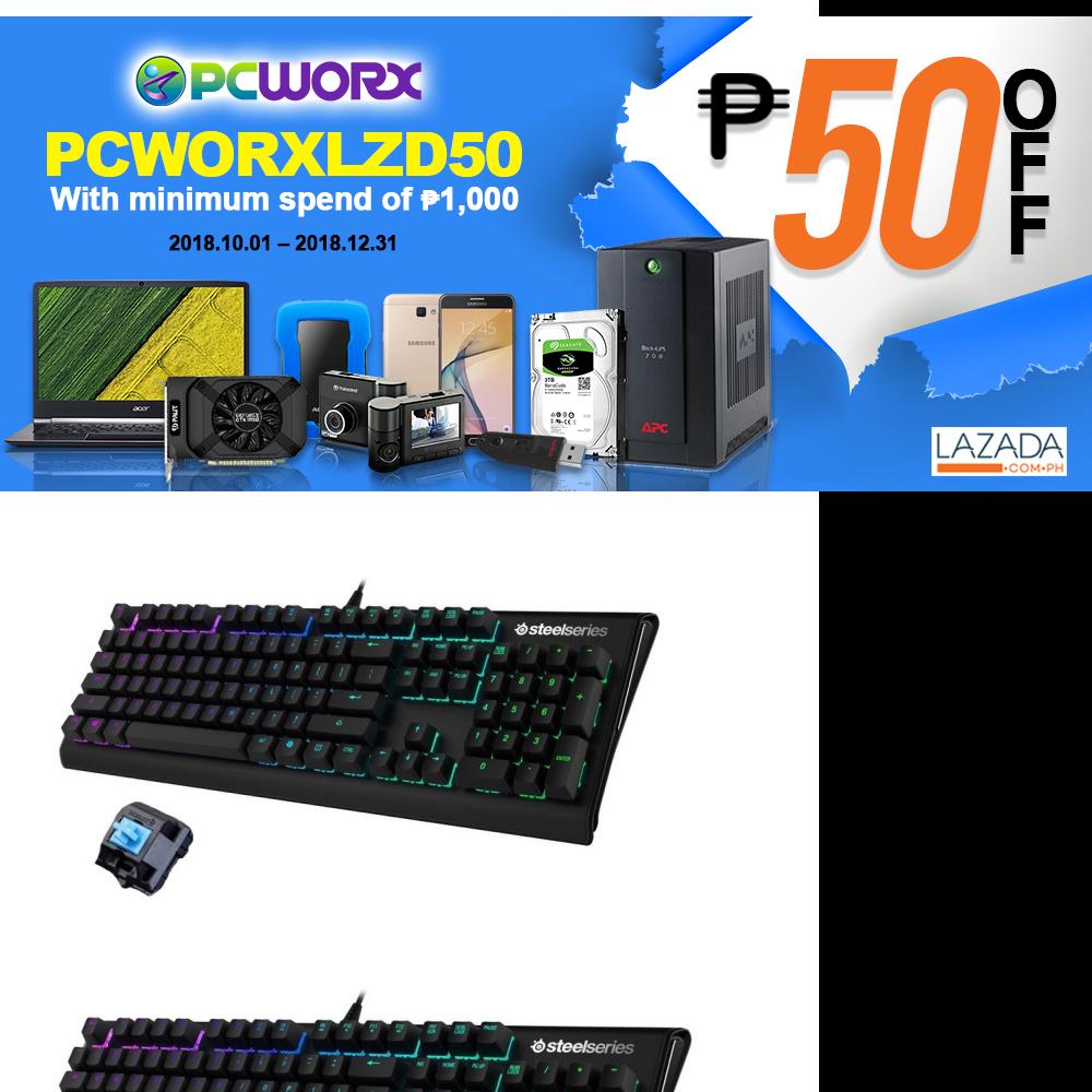 Steelseries Apex M650 Rgb Gaming Keyboard Black Lazada Ph Switch