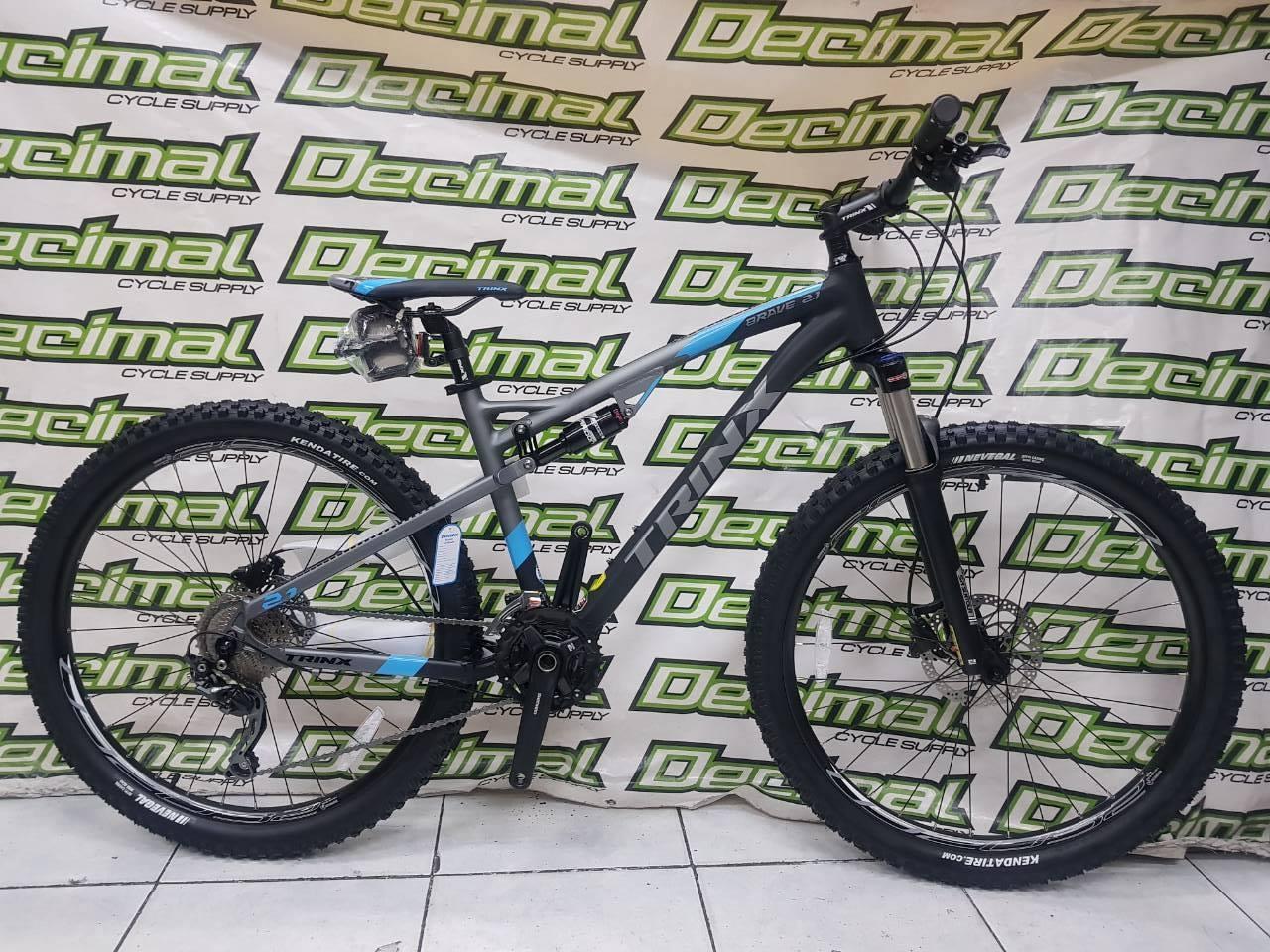 Trinx Brave 2 1 Full Suspension Mountain Bike 27 5 Shimano Deore 10 Speed