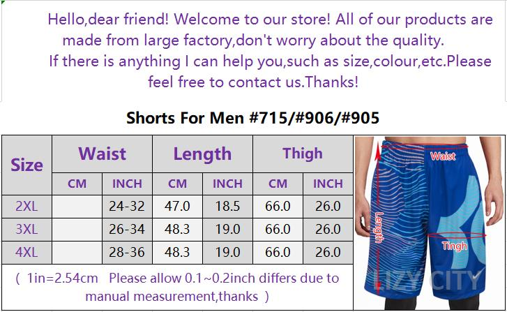 9d22d7b26824 【LizyCity】SHORTS FOR MEN GOOD FOR OUTDOOR ACTIVITIES,Exercise run fitness  quick dry tide casual Big Size Sports Training Jogging Shorts ...