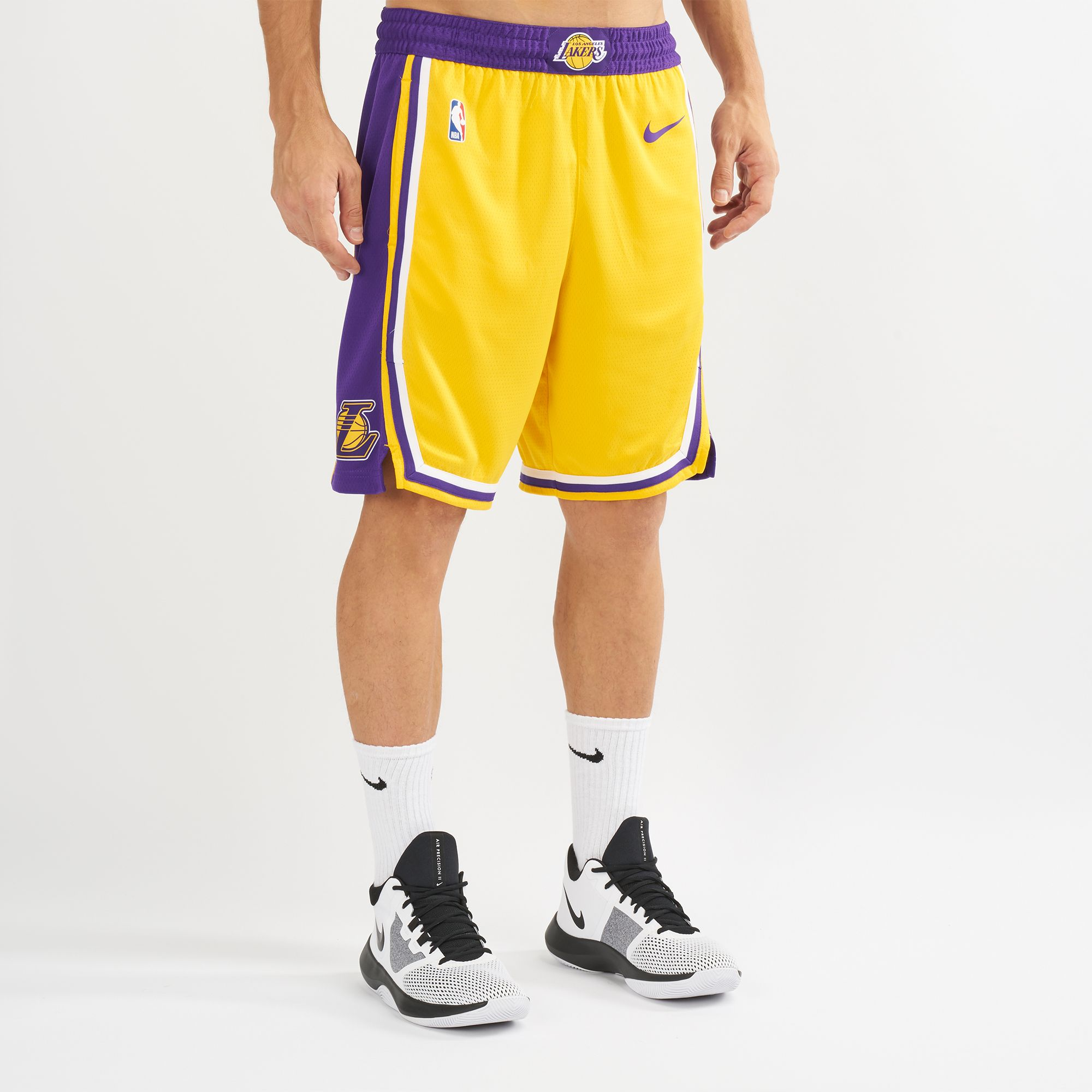 f9c69543 Product details of COD NBA lakers Basketball shorts 2019 new design