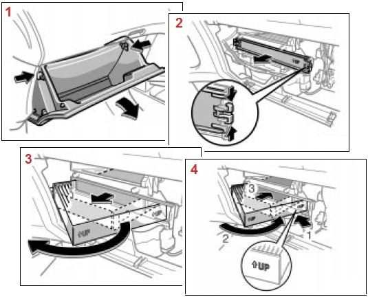 Cabin Air Filter Element For Toyota Wigo 2012 2018