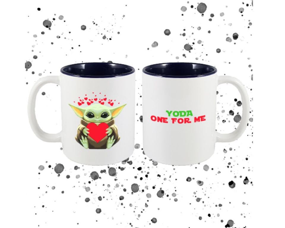 The Mandalorian Baby Yoda Yoda One For Me Coffee Mug Manly Nest Valentine S Gift For Him Or For Her Lazada Ph