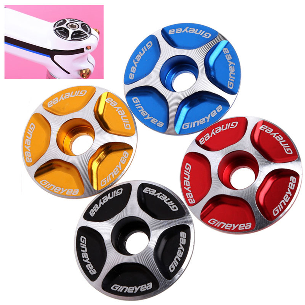 Threadless Road MTB 28.6mm Bike Bicycle Accessories Headset Top Cap Cover USA